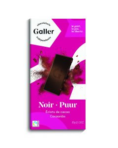 Galler Tablet Puur Cacao 70% 80 Gram