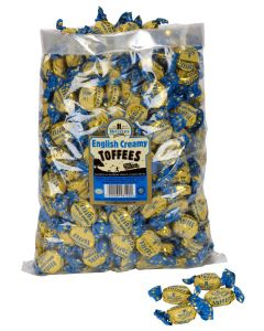 English Creamy Toffees 2,5 KG