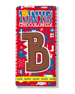 Tony's Chocolonely 180gr Letterreep B