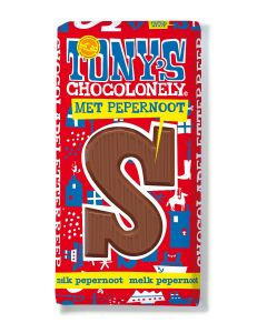 Tony's Chocolonely 180gr Letterreep S Pepernoot