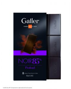 Galler Tablet Extra Puur 85% cacao 80gr